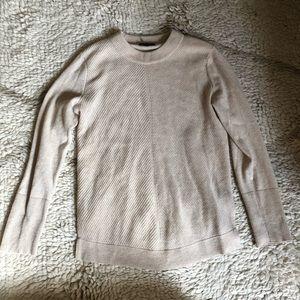 Rag & Bone oatmeal 100% Cashmere Sweater